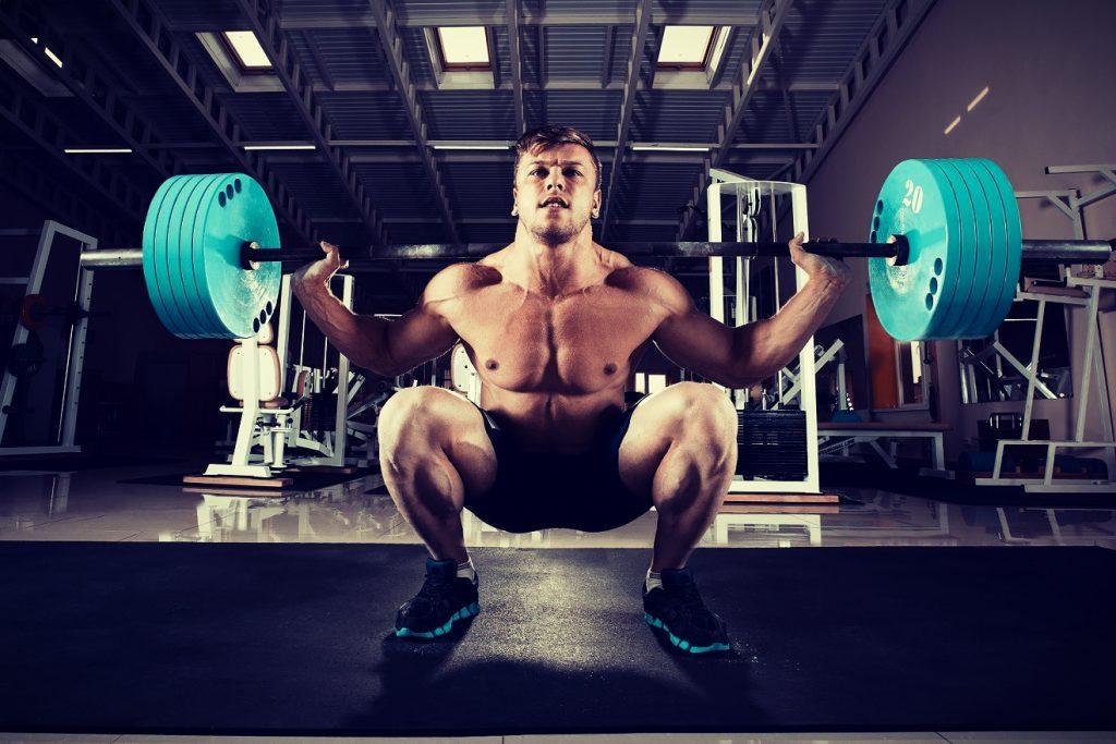 Barbell squat is een basis krachtoefening