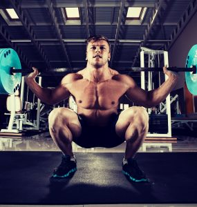 Barbell squat is een basis krachtoefening
