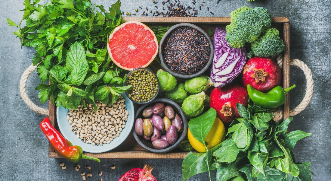 Macronutriënten komen ook voor in groenten