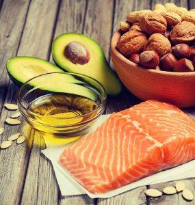 Producten met (gezonde) onverzadigde vetten