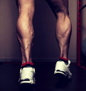 Dumbbell standing calf raise