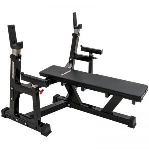 Barbarian warrior bench press
