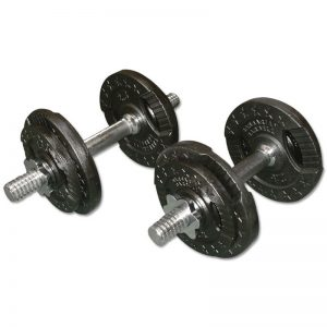 Barbarian Dumbbell Set 2 X 10 kg
