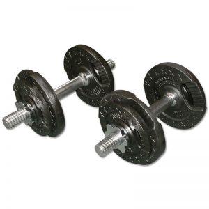 Barbarian Dumbbell Set 2 X 10 kg