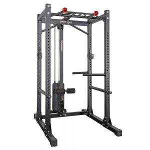 Barbarian power cage + lat pulley met 125 kg gewichtstapel