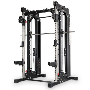 Barbarian smith cable rack met gewichtstapels