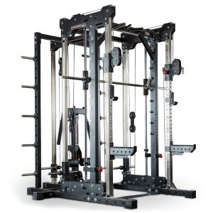 Barbarian smith cable rack + lat pulley