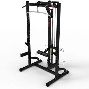 MegaTec Half Rack + Lat Pulley
