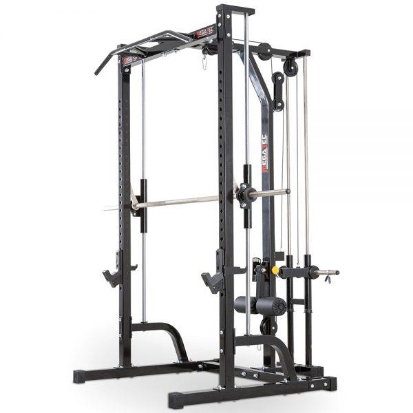 MegaTec Smith Machine + Lat Pulley