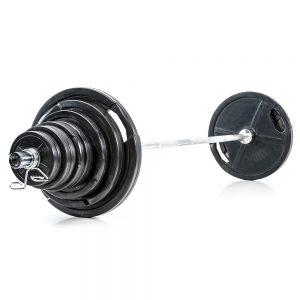 Ironsports Olympische Halterset 140 kg Rubber