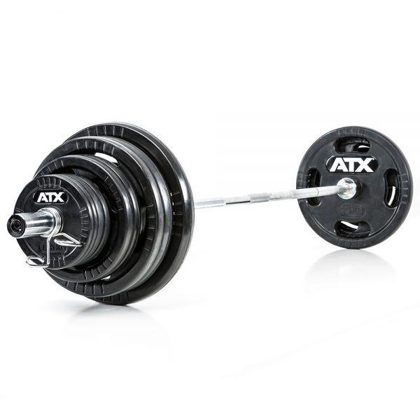 ATX Olympische Halterset 140 kg Rubber