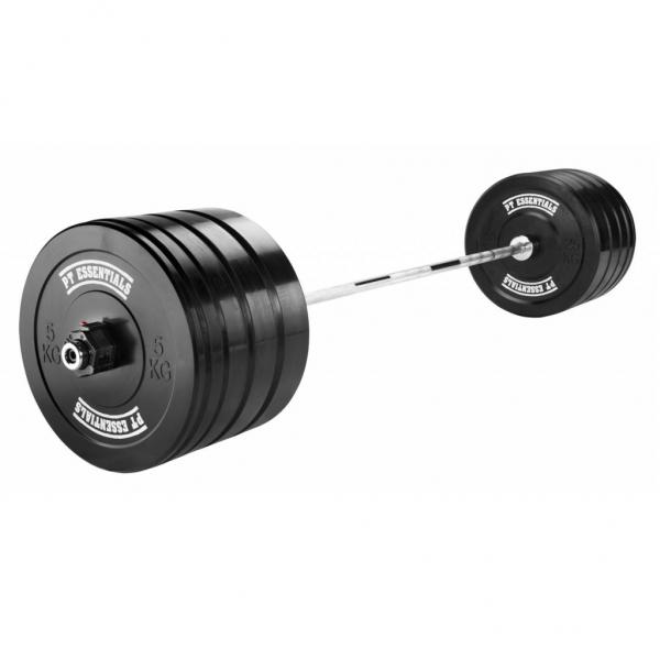 PTessentials Crossfit Halterset 120 kg Rubber