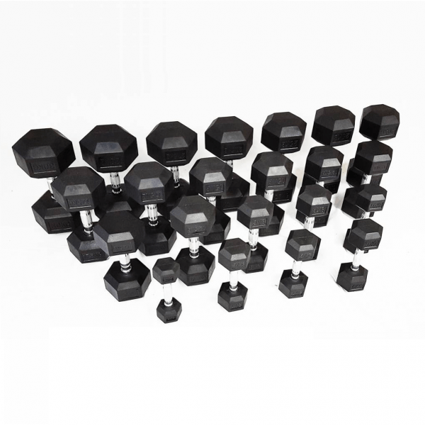 PTessentials Hexa Dumbbell Set 2 t/m 30 kg