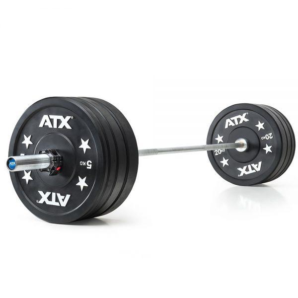 ATX Gym Bumper Plate Halterset 120 kg