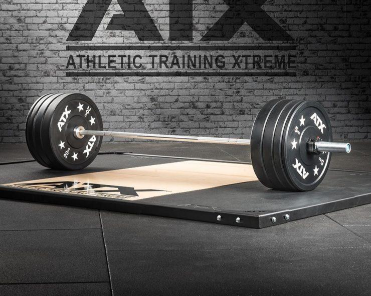 ATX Halterset met bumperplates