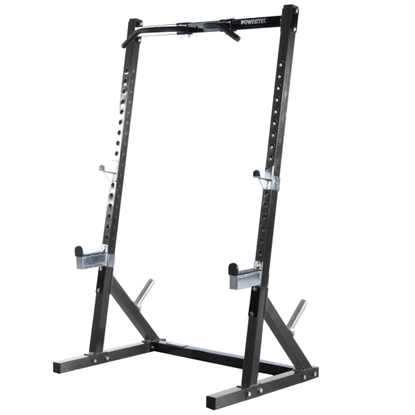 Powertec Half Rack Zwart