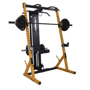 Het Powertec WB HR Half Rack met lat pulley