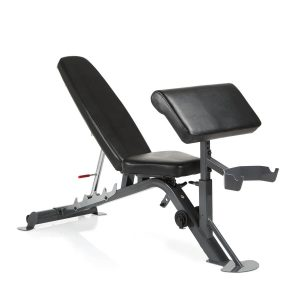 De Finnlo Maximum SCS Fitnessbank met biceps curl unit