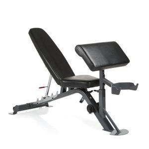 De Finnlo Maximum SCS Fitnessbank met biceps curl unit