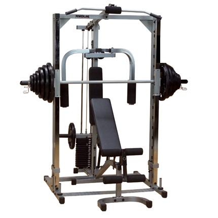Powerline Smith Machine PSM144X met gewichtstapel + Lat Pulley