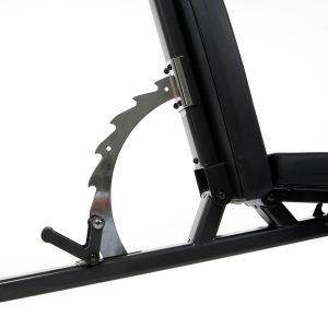 Verstelmechanisme van de Finnlo Inspire Fitnessbank FT1
