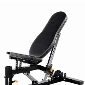 Powertec WB-UB Fitnessbank in incline positie